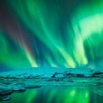 アイスランドの冬をテーマにした微速度撮影映像