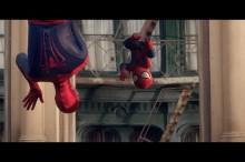 世界中で話題沸騰!再生数8000万回のエビアンとスパイダーマンのコラボCM