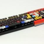 レゴマニアによるレゴブロックで作ったパソコン用キーボード