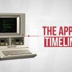 Appleが1976年から2012年までにかけてどんな製品をリリースしたか3分で見れちゃうヒストリー動画