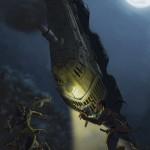 FF6で有名な魔列車の戦闘シーンをイラストに書き起こした結果