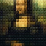 【画像6枚】あなたはいくつわかりますか? レゴでピクセル化された世界の名画