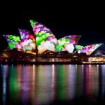 夜を光で美しく飾りあげたオーストラリア・シドニーで行われた祭典「ビビッド・シドニー」