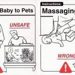 海外の「赤ちゃんの安全」について書かれた本がおかしい