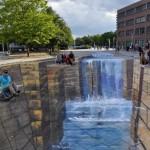 地面に描いてるように見えない 凄すぎる3Dストリートアート23選