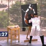 90秒で絵を描き上げる画家のテクニックがヤバイ