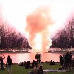 17分で打ち上げる7000発の花火をわずか15秒で全発射