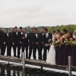 【耐荷重には注意】桟橋で結婚式の記念撮影をしていたら起きた思わぬハプニング