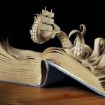【画像19枚】古い本を素材して制作されたアート