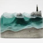 美しい、ただその一言に尽きる 氷の彫刻のようなガラス細工
