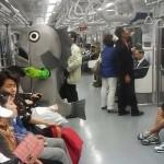 【画像23枚】世界の地下鉄で目撃されたヘンな人