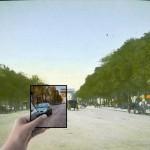 昔に「今」をはめ込もう 過去に撮影された写真に現在の写真を重ね合わせた写真