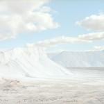 これは絵画ではありません 視界のすべてが白で埋め尽くされる塩の採掘場