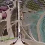 高い怖いヤバイ 世界一高いウォータースライダーを滑る視点映像