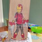 お弁当を入れる紙袋に息子が好きなアニメキャラクターを2年間描き続けたステキなお父さん