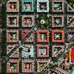 人工物による不思議な模様 世界の衛星写真