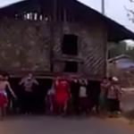 タイのとある村での引っ越し方法が豪快過ぎる