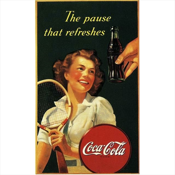 1950年から1960年台にかけて制作されたレトロなコカ・コーラの広告【画像45枚】