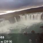 雄大な自然をテクノロジーの力で観光 ドローンでアイスランドの滝めぐり