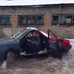 究極のニコイチ 自動車のフロントをくっつけて乗り回してみた