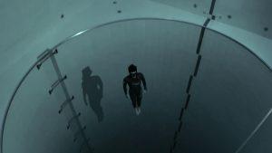 底なし感にゾワッとくる 世界一深い40mのプールに潜水