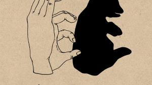 ちょっと複雑な手影絵のやり方を覚えられるイラスト集